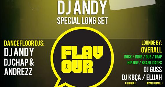 Festa Flavour anima a noite com DJ andy e convidados este sábado na Mono club Eventos BaresSP 570x300 imagem