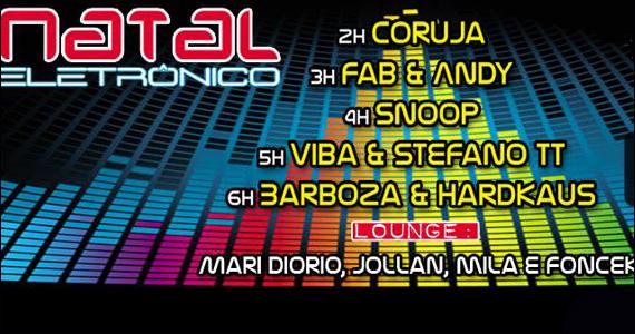 Natal eletrônico com DJs convidados e muito agito no Mono Club Eventos BaresSP 570x300 imagem