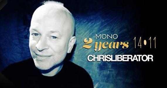 Festa de 2 anos do Mono Club com DJ Chris Liberator nesta sexta-feira Eventos BaresSP 570x300 imagem