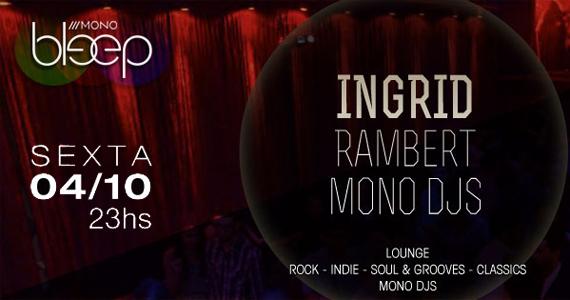 Festa Bleep recebe a Dj Ingrid para comandar a sexta no Mono Club Eventos BaresSP 570x300 imagem