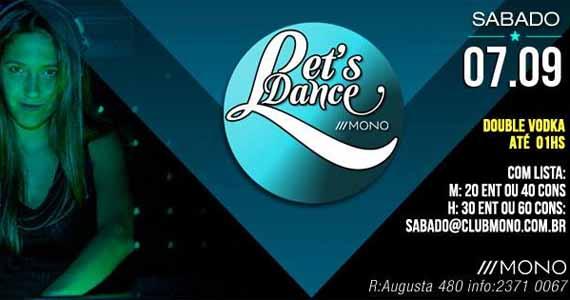 Let's Dance agita o sábado de feriado na Mono Club com DJs convidados Eventos BaresSP 570x300 imagem