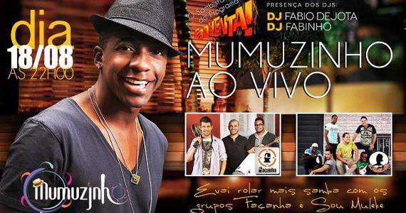Mumuzinho e convidados sobem ao palco da Seringueira com muito samba e pagode Eventos BaresSP 570x300 imagem