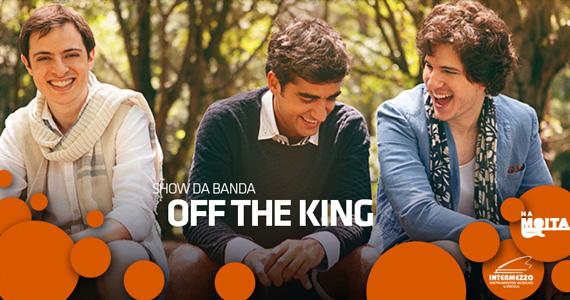 Show da banda Off The King nesta sexta-feira no palco do Na Mata Café Eventos BaresSP 570x300 imagem