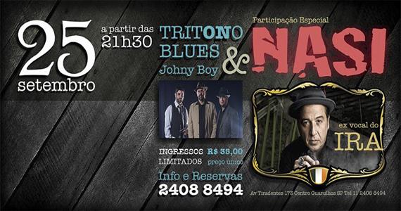 Tritono Blues recebe Nasi, ex-vocalista do Ira!, em show exclusivo no The Lord Black - Rota do Rock Eventos BaresSP 570x300 imagem