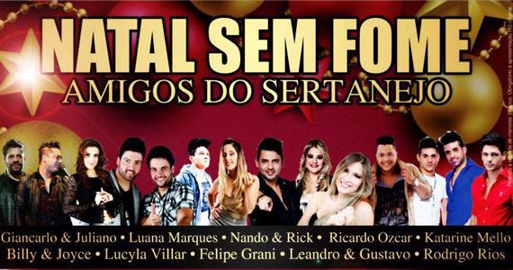 Natal Sem Fome Amigos do Sertanejo acontece nesta terça-feira na Lanterna Eventos BaresSP 570x300 imagem
