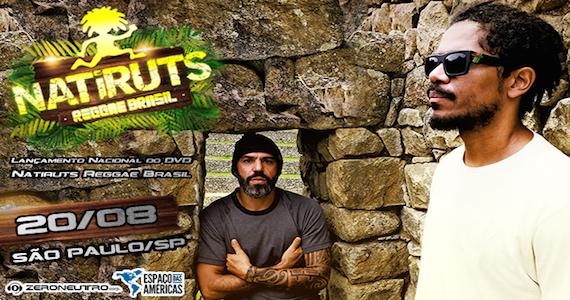 Natiruts faz show de lançamento do DVD Natiruts Reggae Brasil no Espaço das Américas Eventos BaresSP 570x300 imagem