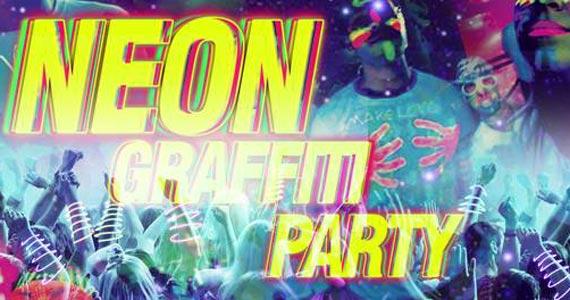 Neon Graffiti Party com Glowstick, tinta neon e canetas neon animam a noite da moçada no Espaço Mog Eventos BaresSP 570x300 imagem