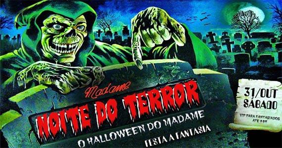 2ª Festa de Halloween do Madame apresenta Noite de Terror com muitas atrações Eventos BaresSP 570x300 imagem