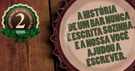 Cervejaria Ô Fiô completa dois anos com lançamento repleto de  competições e novidades como o Erdinger Club e Confraria do Fiô Eventos BaresSP 570x300 imagem