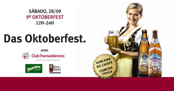 9ª edição da Oktoberfest anima o Club Transatlântico neste sábado Eventos BaresSP 570x300 imagem