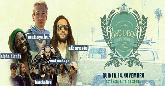 One Drop Festival acontece nesta quinta-feira no Estância Alto da Serra Eventos BaresSP 570x300 imagem