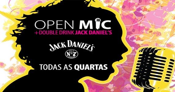 Todas as quartas acontece o Open Mic para o pessoal soltar a voz no Garrafas Bar Eventos BaresSP 570x300 imagem