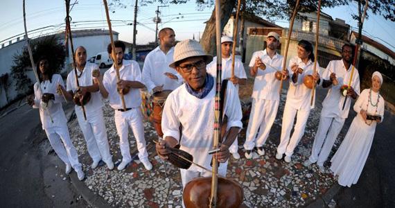 Orquestra de Berimbaus se apresenta no Sesc Santo André no domingo Eventos BaresSP 570x300 imagem