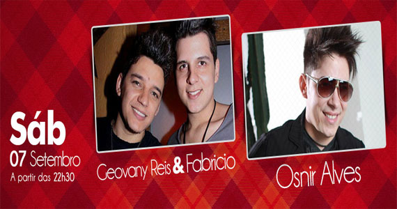 Geovany Reis & Fabrício e Osnir Alves são destaque na noite da Brook's Bar Eventos BaresSP 570x300 imagem