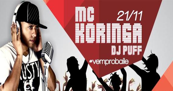 MC Koringa se apresenta nesta quinta-feira no palco da Outlaws e agita a pista Eventos BaresSP 570x300 imagem