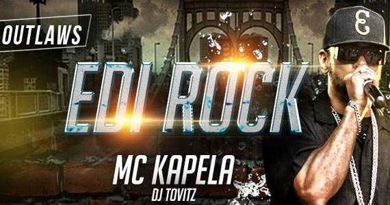 Edi Rock, MC Kapela e DJ Tovitz se apresentam na balada Outlaws Eventos BaresSP 570x300 imagem