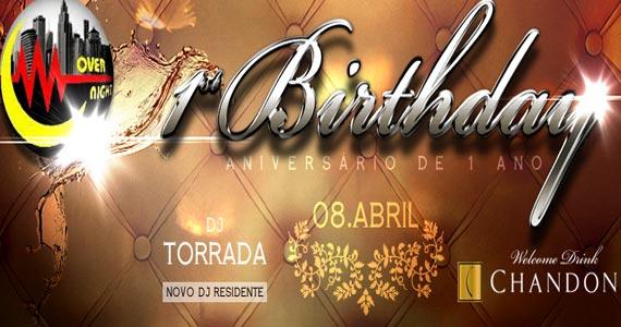 Over Night Club comemora um ano com festa especial na sexta-feira Eventos BaresSP 570x300 imagem