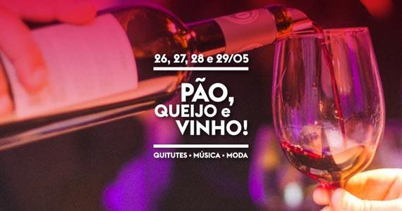Festival Pão, Queijo e Vinho acontece no Vila Butantan agitando o feriado  Eventos BaresSP 570x300 imagem
