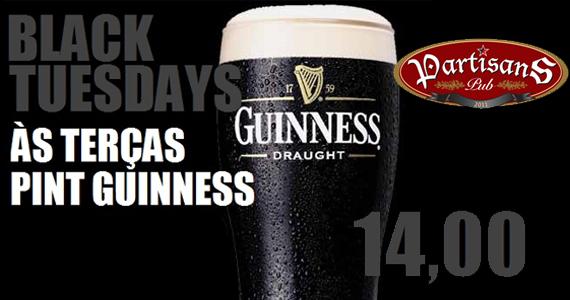 Happy hour com desconto no pint de Guinness no Partisans Pub Eventos BaresSP 570x300 imagem