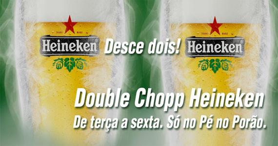 Happy hour com Double Chopp Heineken agita a noite no Pé no Porão Eventos BaresSP 570x300 imagem
