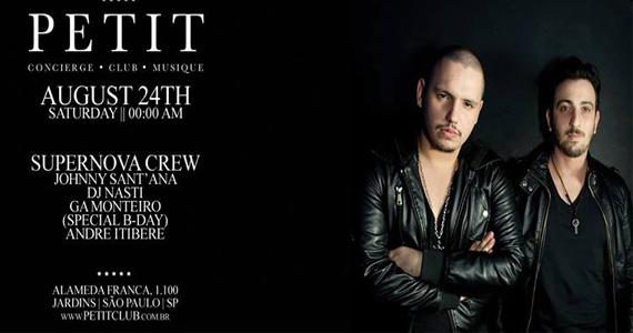 Petit Club apresenta dupla de DJs Supernova Crew para agitar a noite deste sábado Eventos BaresSP 570x300 imagem