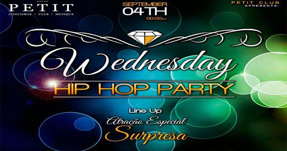 Hip Hop Party agita a noite com atração surpresa nesta quarta-feira na Petit Club Eventos BaresSP 570x300 imagem