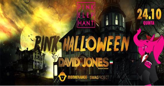 Festa Pink Halloween com DJs, monstros e fantasmas invadindo a Pink Elephant nesta quinta-feira Eventos BaresSP 570x300 imagem
