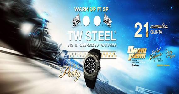Festa da marca TW Steel com DJs convidados agitam a noite de quinta-feira na Pink Elephant Eventos BaresSP 570x300 imagem