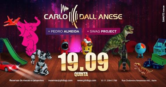 Festa Toys Party agita a noite com Carlo Dall Anese na Pink Elephant Eventos BaresSP 570x300 imagem