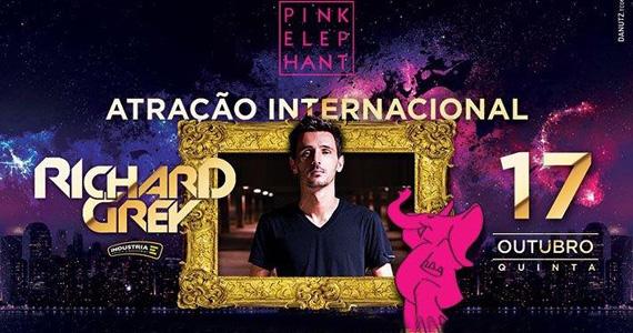 Atração internacional Richard Grey se apresenta nesta quinta-feira na Pink Elephant Eventos BaresSP 570x300 imagem