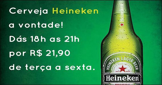 Happy hour descontraído com cerveja heineken no Sr Pitanga Eventos BaresSP 570x300 imagem