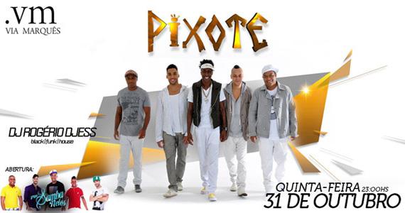 Grupo Pixote se apresenta nesta quinta-feira e agita a quinta-feira do Via Marquês Eventos BaresSP 570x300 imagem