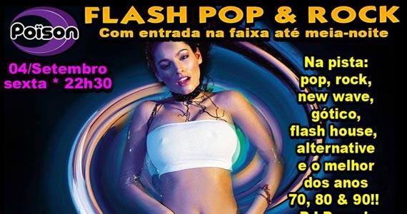 Festa Flash Pop e Rock com DJ Demoh agitando a noite do Poison Bar e Balada Eventos BaresSP 570x300 imagem