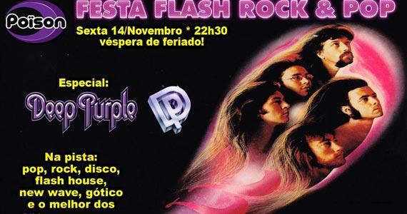 Festa Flash Rock e Pop com DJ Demoh nesta sexta-feira no Poison Bar e Balada Eventos BaresSP 570x300 imagem