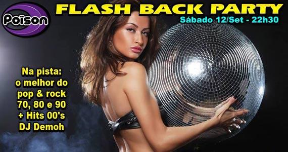 Flash Back Party anima o sábado com muita música no Poison Bar e Balada Eventos BaresSP 570x300 imagem