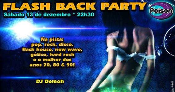 Poison Bar e Balada recebe a festa Flash Back Party no sábado Eventos BaresSP 570x300 imagem