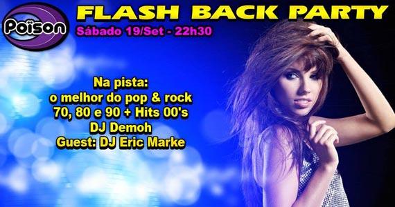 Poison Bar e Balada recebe os agitos da festa Flash Back Party para animar o sábado Eventos BaresSP 570x300 imagem