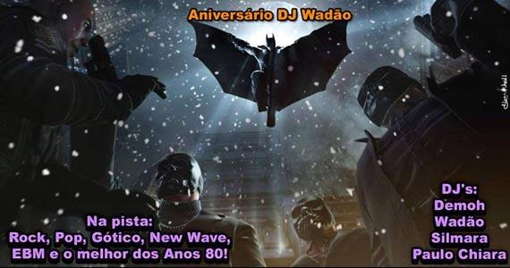 Noite dos Anos 80 com DJs convidados animando a noite de sábado no Poison Bar e Balada Eventos BaresSP 570x300 imagem