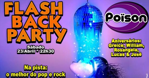 Poison Bar e Balada recebe a Flash Back Party com DJ Demoh nas pick-ups no sábado Eventos BaresSP 570x300 imagem
