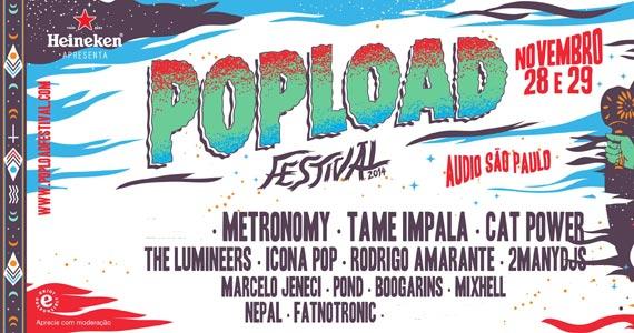 Segunda Edição da Popload Festival com diversas atrações nacionais e internacionais no Audio Club Eventos BaresSP 570x300 imagem