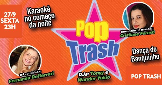 Trash 80's recebe a festa Pop Trash com karaokê nesta sexta-feira Eventos BaresSP 570x300 imagem