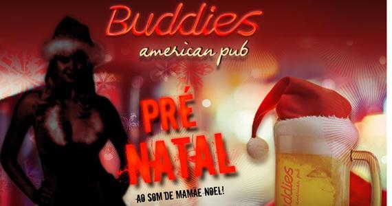 Festa de Pré Natal do Buddies American Pub tem DJ Mamãe Noel Eventos BaresSP 570x300 imagem