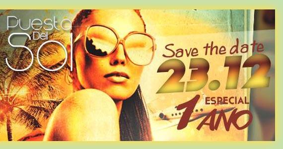 Festa de 1 ano do Projeto Puesta Del Sol Eventos BaresSP 570x300 imagem