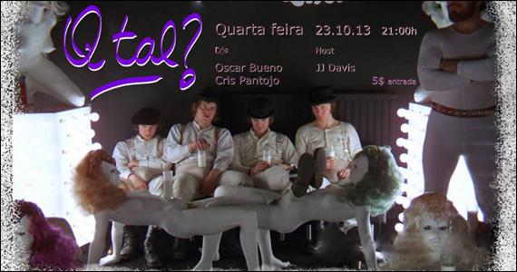 Purgatorium 90 recebe o DJ Cris Pantojo e convidados no comando da Festa Q Tal? Eventos BaresSP 570x300 imagem
