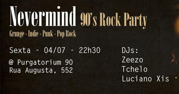 Acontece a festa Nevermind 90's Rock Party no Purgatorium 90 - Rota do Rock Eventos BaresSP 570x300 imagem