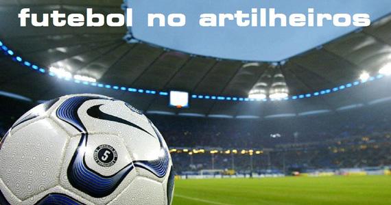 Transmissão de futebol com double de bebida no Artilheiros Bar Eventos BaresSP 570x300 imagem