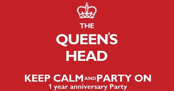 Pub The Queen´s Head comemora um ano de existência com festa temática Eventos BaresSP 570x300 imagem