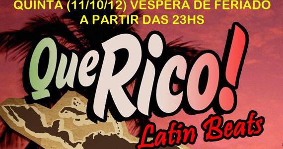 DJ Tide toca ritmos latinos na festa Que Rico! da Livraria da Vila Eventos BaresSP 570x300 imagem
