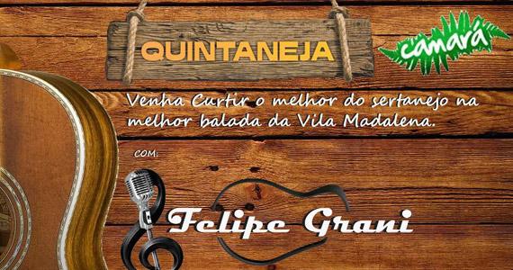 Quintaneja Camará com Felipe Grani anima o Bar Camará Eventos BaresSP 570x300 imagem