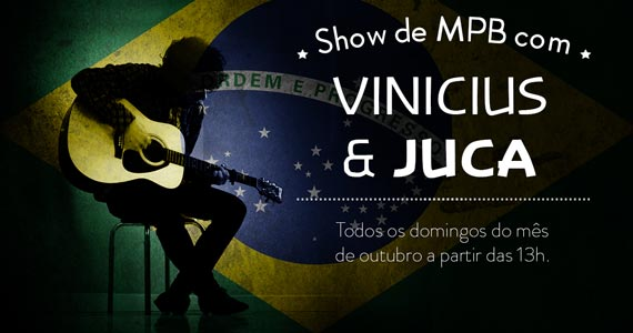 Quintal do Espeto oferece show de MPB com Vinicius & Juca Eventos BaresSP 570x300 imagem